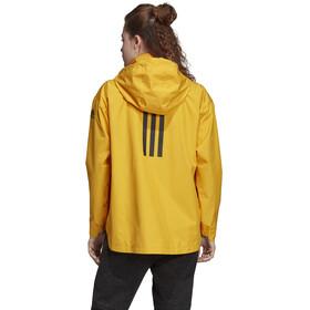 adidas TERREX Urban Climaproof Chaqueta ligera Mujer, active gold